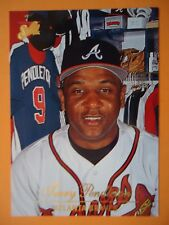 MLB 41 Terry Pendleton Atlanta Braves Baseball Donruss 1994