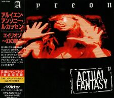 AYREON Actual Fantasy +1 JAPAN CD OBI VICP-5798 Arjen Lucassen Vengeance