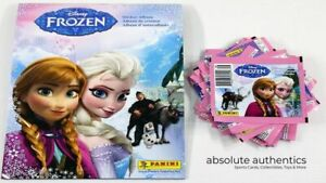 Panini Disney Frozen Sticker Album with 30 Sealed Packs of Stickers 220 Total