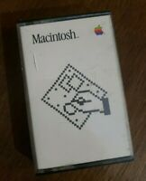 Vintage Apple Macintosh 1984 Cassettes A Guided Tour Of MacDraw