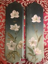 More details for antique hand painted finger door plates