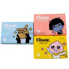 [Yuhan-Kimberly] Kleenex Kakao Travel Tissue  Korean Hygiene 50 Sheet × 3 packs