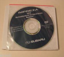 Werkstatthandbuch auf DVD Subaru Impreza - Modelljahr 2012!