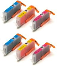 6 NON-OEM INK CARTRIDGE CANON CLI-251 XL C M Y PIXMA MX720 MX920 MG6400 MG5500