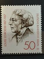 Germany Berlin - 1987 -  Louise Schroeder Politician - 1 stamp set - MNH
