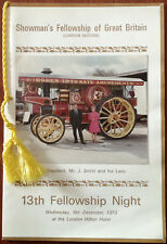 More details for showman's fellowship of great britain london section 13th fellowship night 1973