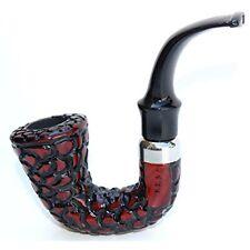 "F.e.s.s. Classic ""Captain"" Carved Tobacco Pipe W/filter"
