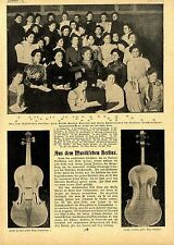 Cortaplumas Stradivarius del geigerkönigs Joseph Joachim texto + Imagen de 1900