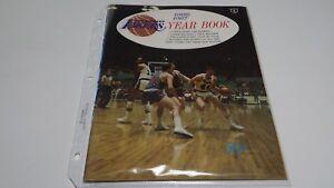 1966-1967 NBA Los Angeles LAKERS Yearbook
