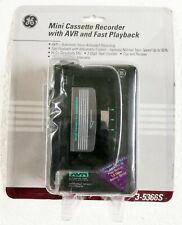 Ge Mini Cassette Recorder 3-5366S