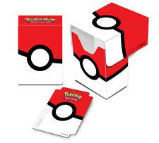 Deck Box illustrée Ultra Pro Boite de rangement Pokémon Ultra Ball Rouge