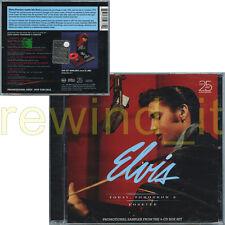 "ELVIS PRESLEY ""TODAY, TOMORROW & FOREVER"" RARE CD PROMO SAMPLER - SEALED"