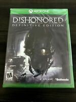 Dishonored Definitive Edition XBOX ONE Game SEALED Brand New & Factory Wrapping