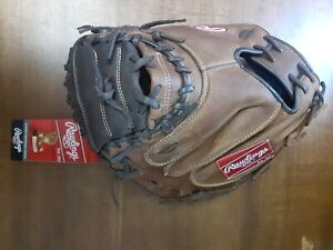 "NEW! Rawlings 31.5"" Player Preferred Lite Toe RCM30CT Youth Catcher Mitt RHT"