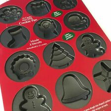 Wilton Christmas Cookie Or Cake Pan Non   stick Holiday