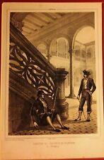 CIUDAD REAL. Almagro. Parcerisa, lit.  original, 1839-66