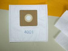 10 Staubsaugerbeutel geeignet für Hanseatic  Fresh 1800, JCV 1600, (4001,2te) WS