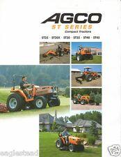 Farm Tractor Brochure - AGCO - ST 25 30X 30 35 40 45 - Compact (F1946)