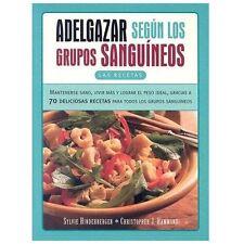 Adelgazar Segun Los Grupos Sanguineos-ExLibrary