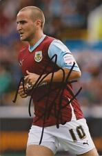BURNLEY: MARTIN PATERSON SIGNED 6x4 ACTION PHOTO+COA