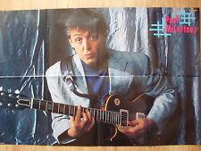 POSTER  *Paul McCartney / James Hetfield - Metallica*