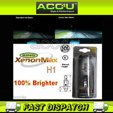 Ring Xenon Max Halogen H1 100% Brighter 12v Car Upgrade Headlamp Headlight Bulbs