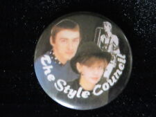 The Style Council-Group Shot-Band-Music-Logo-Small-Button-80's Vintage-Rare