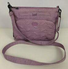 Lug Samba RFID Brushed Lilac Purple Crossbody Bag Purse