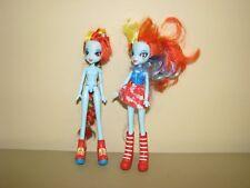 My Little Pony Equestria Girls Lot Rainbow Dash Brushable Hair Doll