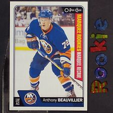 ANTHONY BEAUVILLIER  RC  2016/17  OPC  Marquee  ROOKIE  #705  New York Islanders