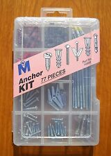 Anchor Kit 77 Pieces by Midwest Fastener 14999