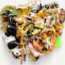 Lot of Plastic Toy Animals