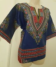 Tranditional African Dashiki Top New FREE UK P&P