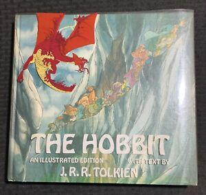 1977 THE HOBBIT Illustrated Edition HC/DJ (Acetate) FVF/VG+ Fisherman Collection