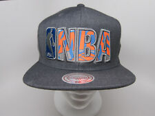 Mitchell & Ness New York Knicks Insider Reflective Snapback NBA Gray Cap