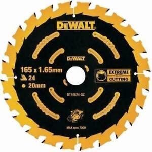 DEWALT DT10624-QZ 165 mm Extreme Circular Saw Blade