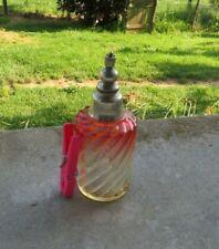 ancien flacon vaporisateur baccarat model bambou 2 couleurs (5)