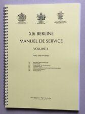 Jaguar Xj 40 3,2 L - 4,0 L ou 6,0 L Manuel de Reparation Volume 4