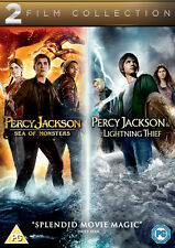 Percy Jackson and The Lightning Thief Sea of Monsters DVD Region 2