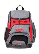 SPEEDO - ZAINO T-KIT TEAMSTER BACKPACK - 35L - 10707C800 - GREY/RED
