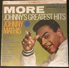 """(New) JOHNNY MATHIS-""""More Johnny's Greatest Hits"""" LP, 1959 Columbia 6 Eye CS8150"""
