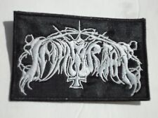 IMMORTAL EMBROIDERED OLD LOGO BLACK METAL PATCH
