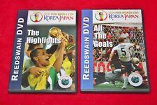 FIFA 2002 World Cup Soccer KOREA & JAPAN Highlights All The Goals DVDs Reedswain