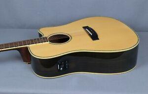 ESP Tombstone TSD 430E Acoustic-Electric Guitar, Natural Gloss Finish