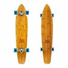 """Magneto 44"""" Kicktail Cruiser Bamboo Longboard"""