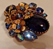 Vintage Brooch Marked Regency Art Deco Briliant