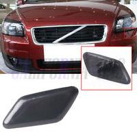 FOR VOLVO S40 V50 2007-2012 HEADLIGHT WASHING COVER WASHER CAP PRIMED LEFT N//S