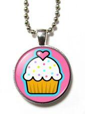 Magneclix magnetic pendant-Cute/Kitsch Cupcake