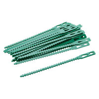 30pc Re-Useable Adjustable Plant Ties Suitable Trees Canes Beans Tomato 135mm