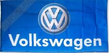 FREE SHIP TO USA VolksWagen VW BLUE FLAG BANNER 3x5 feet beetle cc golf gti